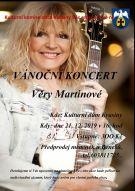Věra Martinová vánoční koncert