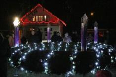 Rozsvícení vánočního stromku dne 1.12. 2019