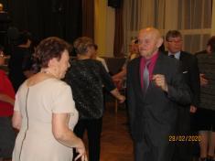 Ples spolku kvasinských důchodců dne 28.2. 2020