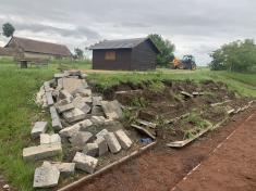 Úpravy předpředáním staveniště