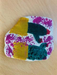 kamínkování - malování na kamínky