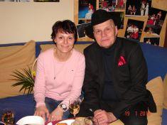 Večer při svíčkách - Jan Přeučil a Eva Hrušková